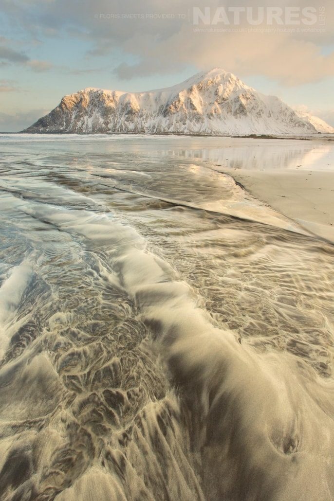 A spectacular winter seascape - photographed during a Winter in Lofoten Photography Holiday