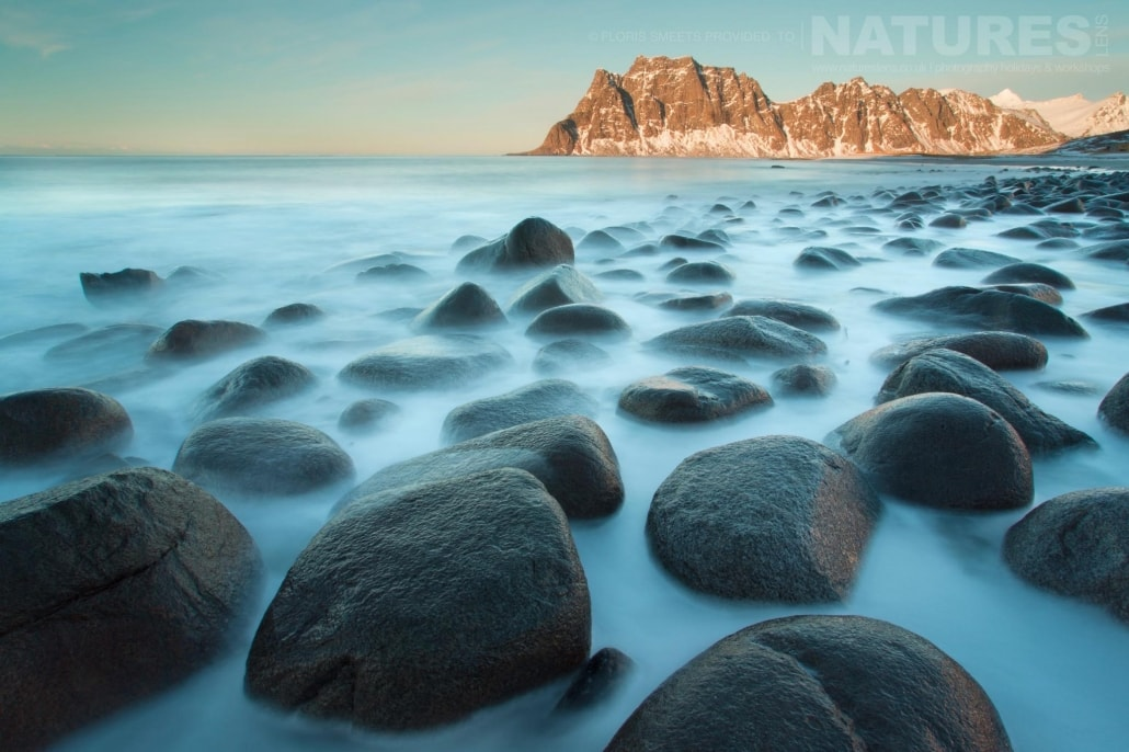 Winter seascape - photographed during a Winter in Lofoten Photography Holiday