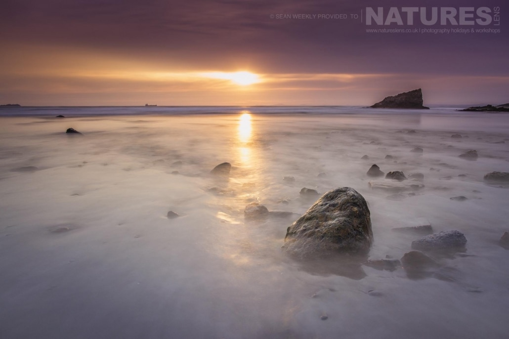 Capturing the splendour of the Pembrokeshire beaches - typical of the type of image captured on the NaturesLens Beachscapes of Pembrokeshire Photography Workshop