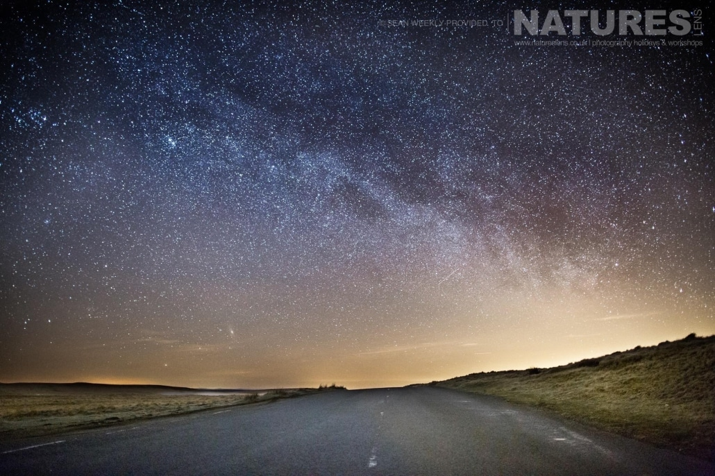 Capturing the stars above the Elan Valley - typical of the type of image captured on the NaturesLens Mid-Wales Landscapes Photography Workshop