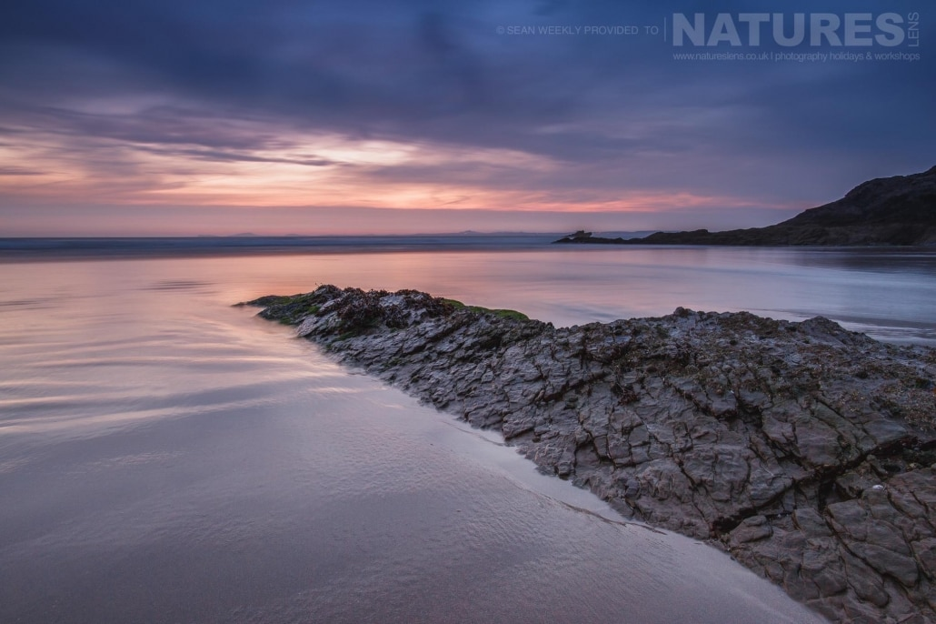 One of Pembrokeshire's beaches captured in soft evening summer light - typical of the type of image captured on the NaturesLens Beachscapes of Pembrokeshire Photography Workshop