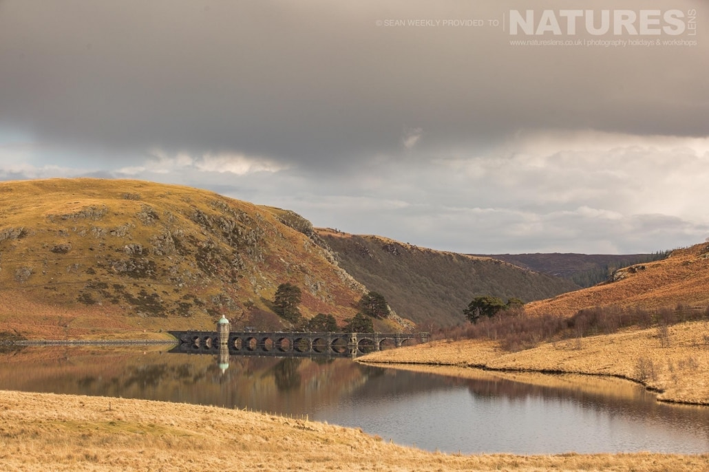 One of the dams of the Elan Valley - typical of the type of image captured on the NaturesLens Mid-Wales Landscapes Photography Workshop