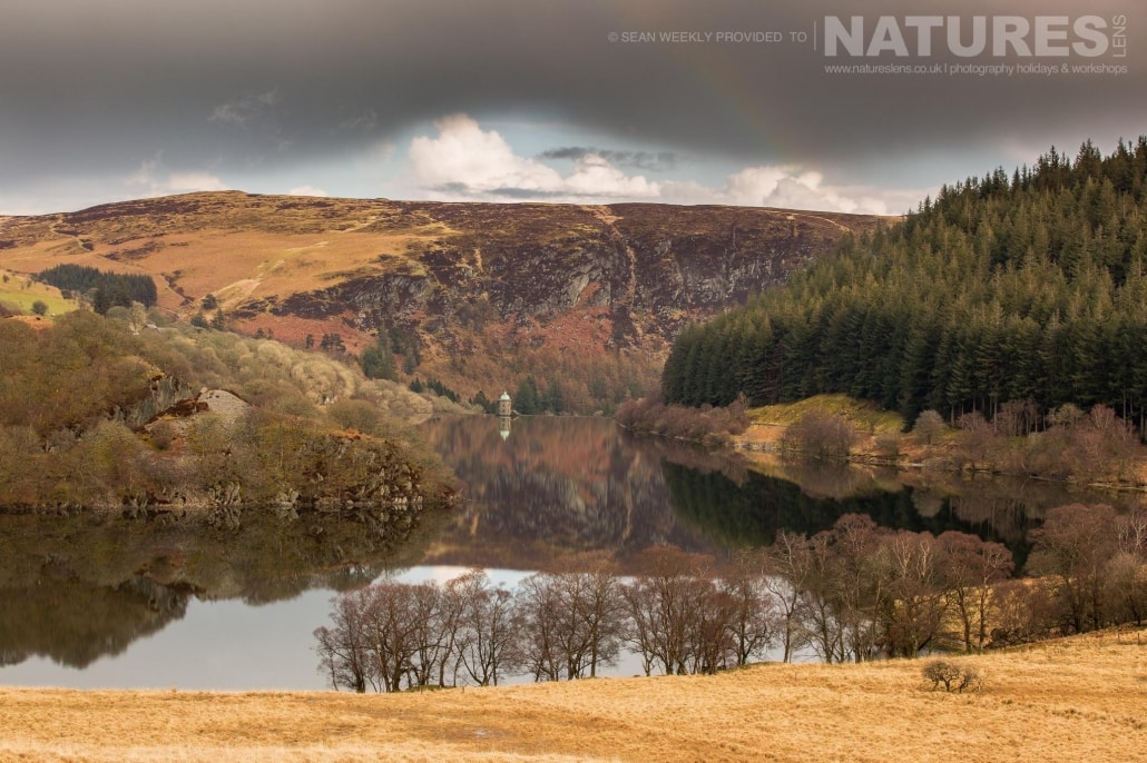 One of the picturesque reservoirs & dams in the Elan Valley - typical of the type of image captured on the NaturesLens Mid-Wales Landscapes Photography Workshop