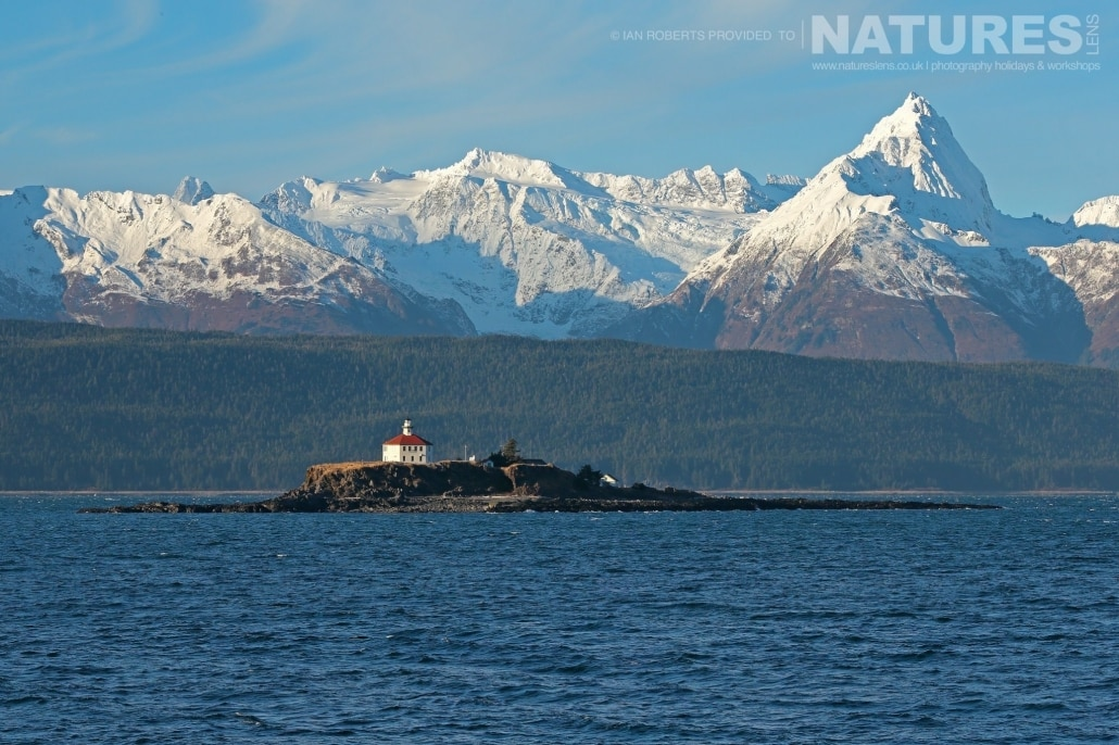 The Famous Alaskan Passage Lighthouse That Greets Those Who Travel Up To Haines By Ferry Photographed On The NaturesLens Bald Eagles Of Alaska Photography Holiday