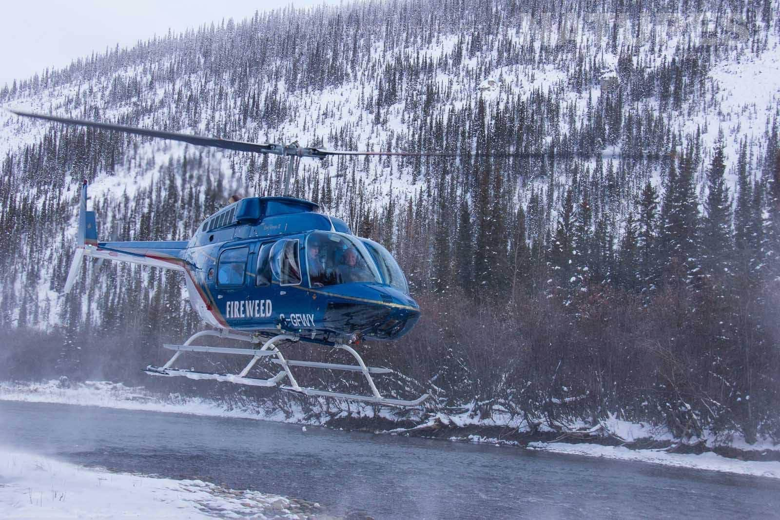 Our Adventure Into The Yukon Is Conducted By Helicopter To Get Both In Typical Of The Kind Of Image That May Be Captured On The NaturesLens Ice Bears Of The Yukon Photographic Holiday
