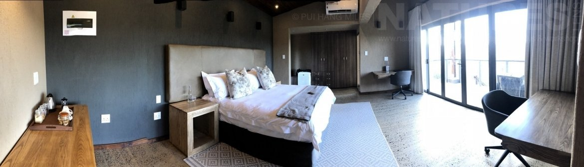 A Panorama Of One Of The Bedrooms At Zimanga Reserve   The Location For The NaturesLens Wildlife Of Zimanga Photography Holiday