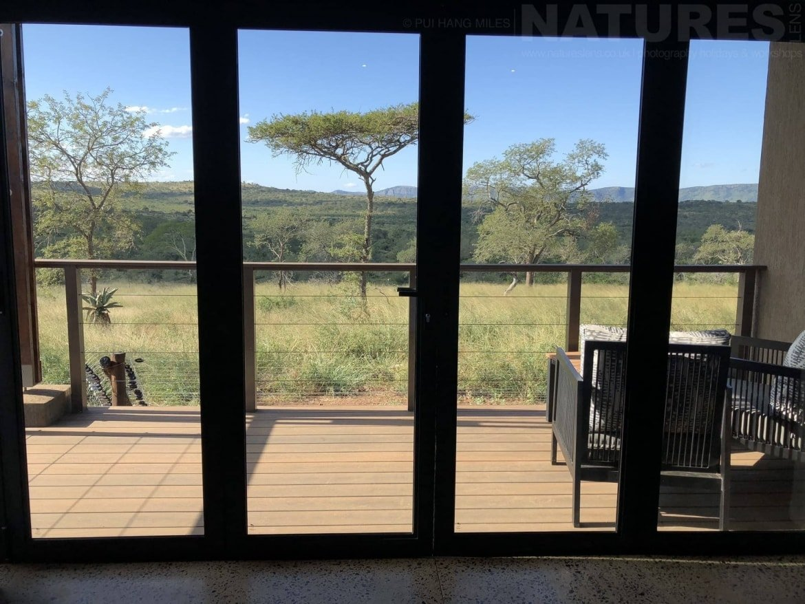The View From One Of The Bedrooms At Zimanga Reserve   The Location For The NaturesLens Wildlife Of Zimanga Photography Holiday
