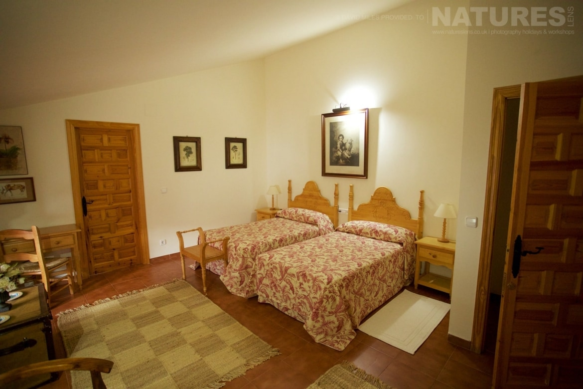 Another Of The Bedrooms Of The Casa Which Is The Base For The Holiday Stay   Photographed On The Estate Used For The NaturesLens Eagles Of Extremadura Photography Holiday