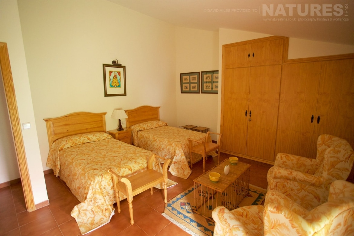 One Of The Bedrooms Of The Casa Which Is The Base For The Holiday Stay Photographed On The Estate Used For The NaturesLens Eagles Of Extremadura Photography Holiday
