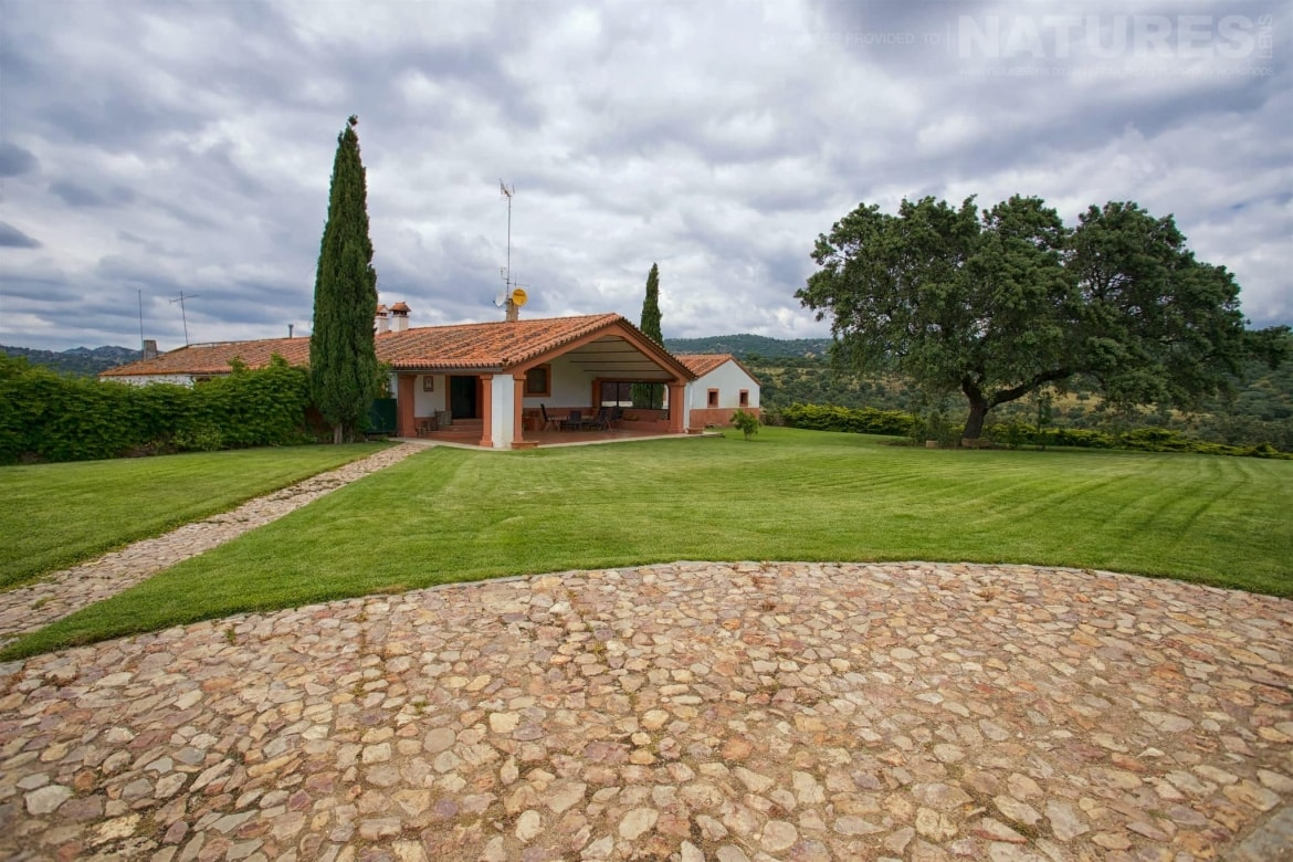 The Beautiful Renovated Casa Which Is The Base For The Holiday Stay Photographed On The Estate Used For The NaturesLens Eagles Of Extremadura Photography Holiday