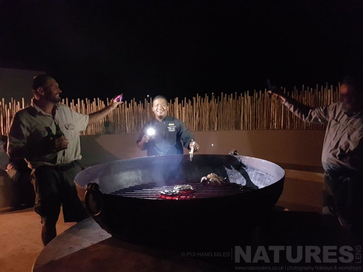 Chef At The Braai  Captured During The Natureslens African Wildlife Zimanga Photography Holiday