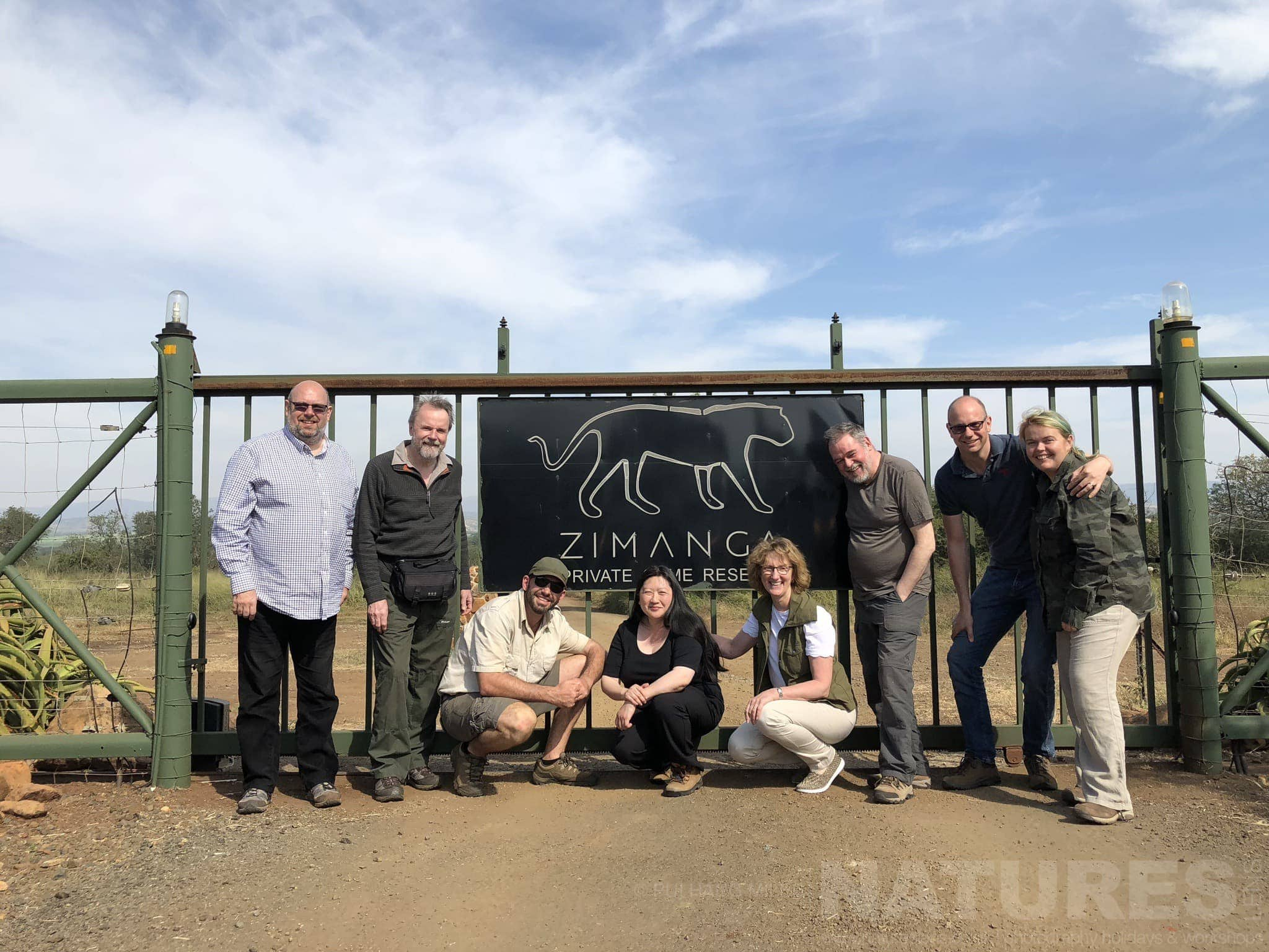 Group Photo   Captured During The NaturesLens African Wildlife Of Zimanga Photography Holiday