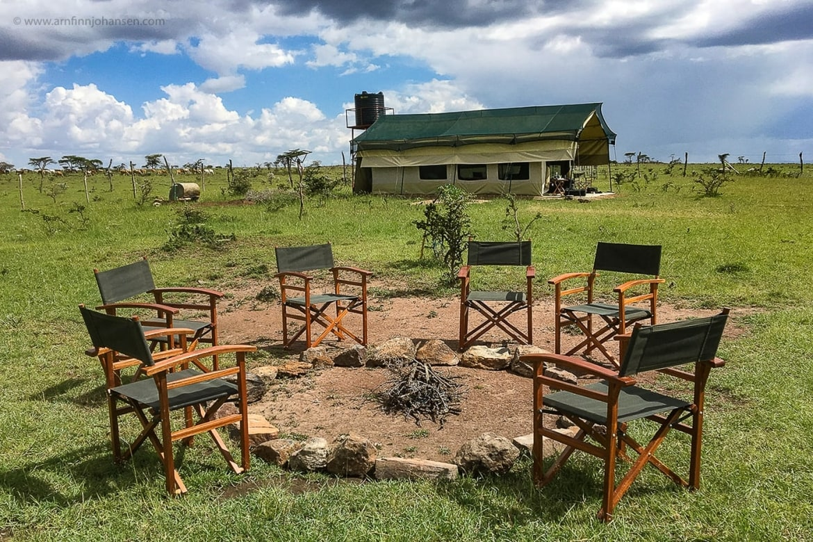 Oltepesi Tented Safari Camp Bonfire