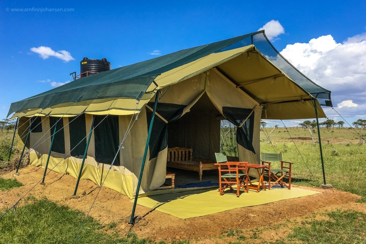 An Example Of The Tents That Are To Be Used For The NaturesLens Wildlife Of Africas Maasai Mara Photography Holiday