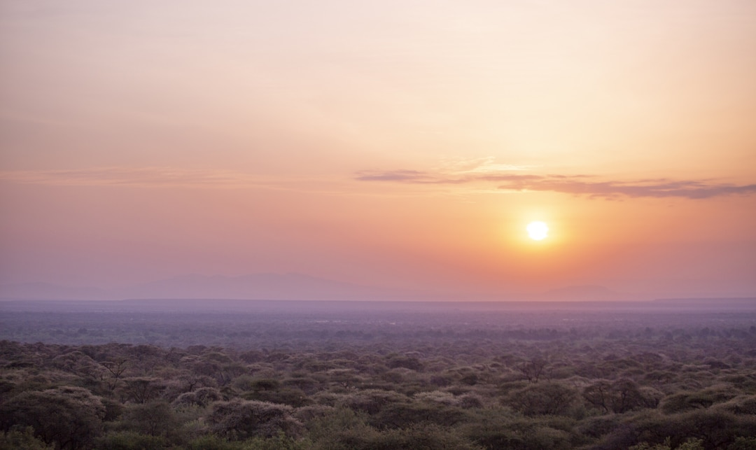 Sunrise - photographed at the lodge used for the NaturesLens Wildlife Hides & Safaris of Kenya Photography Holiday